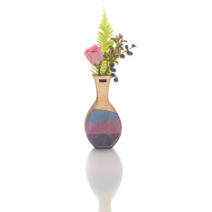 Small handmade vase in Brushstroke