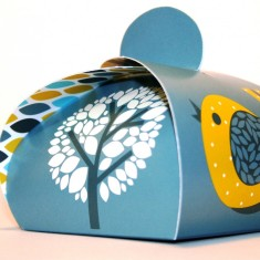 Small gift boxes in bird tree (pack of 3)