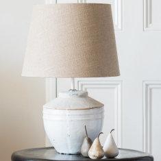Natural stone lamp