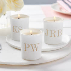 Personalised Table Setting Votives