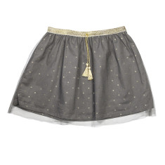 Girl's tutu party skirt in grey