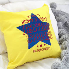 Circus Style Bedtime Stories Personalised Cushion Cover