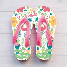 Personalised Girl's Thongs (Various Designs)