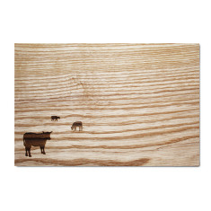Serving Board - Cows