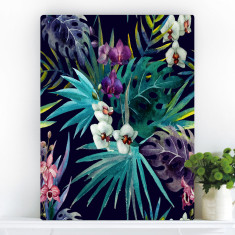 Botanical Panama Palm | Canvas Art