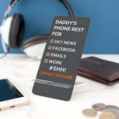 Personalised Mobile Phone Stand