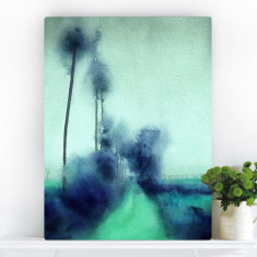 Ocean Blv | Canvas Art