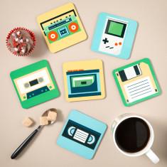 Est. 1980's Coasters (Set of 6)