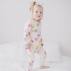 Sweet treats baby romper