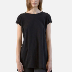 Women's dress tee in black