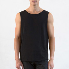 Men's muscle tee in black