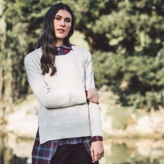 Fairtrade Alpaca sweater - cream