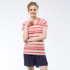 Bailey Top In Red Stripe