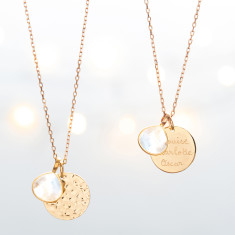 Limited Edition - Personalised Moonstone Necklace
