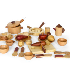 Soopsori wooden cooking set
