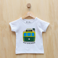 Personalised tram t-shirt