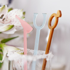 Set of Wedding Cocktail Stirrers