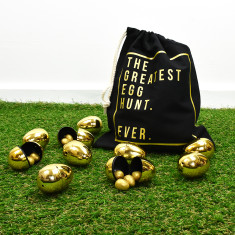 The Greatest Egg Hunt Ever Easter Egg Bag