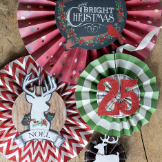 Christmas Holiday rosette kit