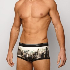 Men's trunk in New York black