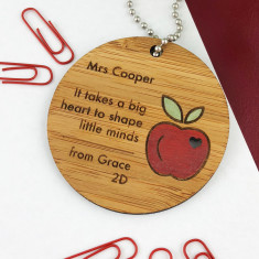 It Takes A Big Heart Personalised Keyring