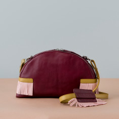Elsie Leather Shoulder Bag - various colours