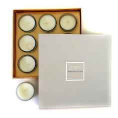 Ormolu fleur blanche 9 votive candle box