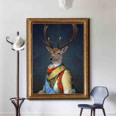 General Stag | Canvas Art