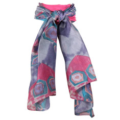 Heidi Pure Silk Print Scarf (various colours)