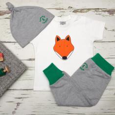 Fantastic Fox t shirt, pants & hat babies unisex gift set
