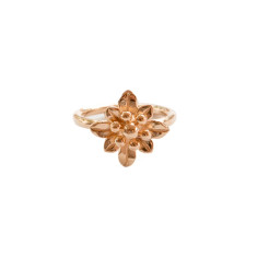 Liberty Floral Midi Ring Rose Gold