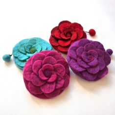 Rose coin purses