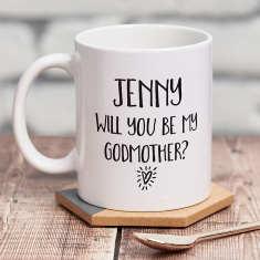 Will You Be My Godmother? Mug