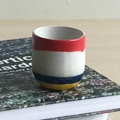 Striped Espresso Cup