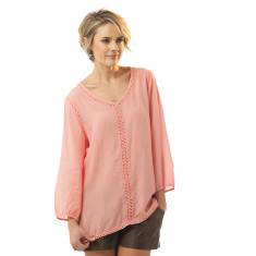 Liezel top in strawberry ice