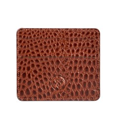 The Marco Croc Luxury Italian Leather Men's Credit Card Holder