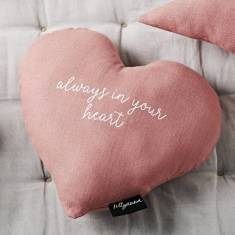 Heart Shape Always in your Heart Cushion