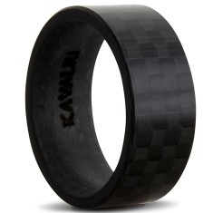 Full black carbon fibre ring