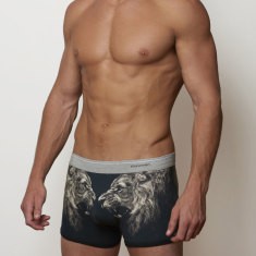 Lion men's boxer brief