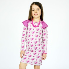 Girls' sweetheart dress