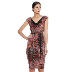 Etna reversible knee length dress