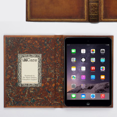 Book cover style case for iPad Mini 4 (various designs)