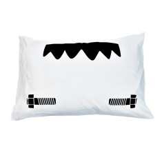 Frankenstein's Monster Head Children's Pillow Case