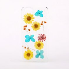 Mixed pressed flower phone case for iPhone or Samsung
