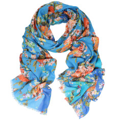 Freida Digital Print Cotton Scarf (various colours)
