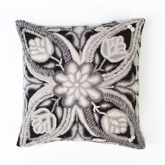 Monochrome cushion cover