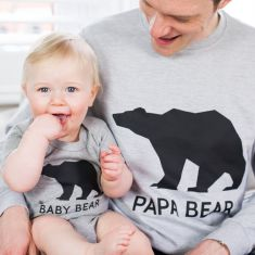 Papa Bear Jumper Set