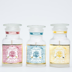 Set of Petite candles (Three Scents)
