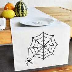 Cobweb Table Runner