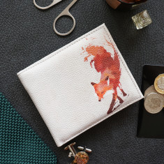 Vulpes Fox Vegan Leather Men's Wallet